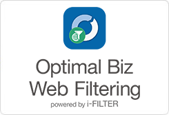 「Optimal Biz Web Filtering Powered by i-FILTER」製品情報